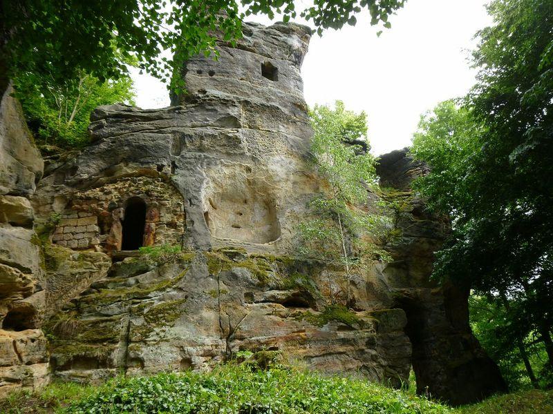 Svojkov Castle Ruin On Tour EyeEm Photography Nature History Sunshine Luzickehory
