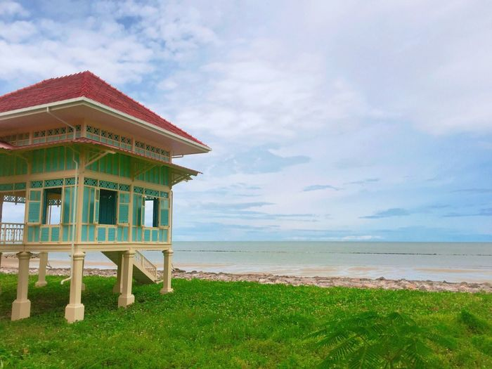 Beach Sky Sea Built Structure Nature Beauty In Nature No People Traveling Enjoying Life EyeEm Hello World