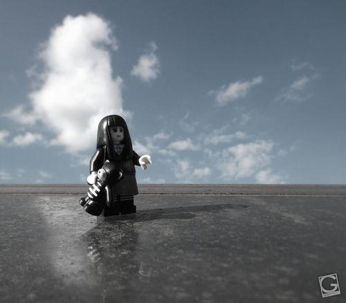 Alone #Lego #toyphotography