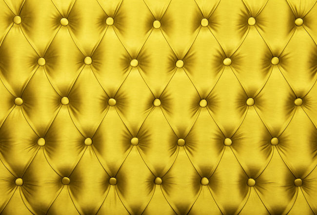 Yellow vivid capitone textile background, retro Chesterfield style checkered soft tufted fabric furniture diamond pattern decoration with buttons, close up Paint The Town Yellow Checkered Chesterfield Leather Upholstery Backgrounds Buttons Capitone Close-up Comfortable Diamond Pattern Elégance Fabric Full Frame Furniture Old-fashioned Pattern Retro Styled Seat Sofa Softness Textile Textured  Textured Effect Yellow