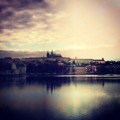 Prague Castle Vltava River beautiful day instaphoto tagsforlikes with friends sunny funny