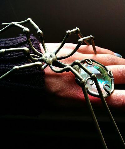 Metal Art Spider Refraction SunCatcher