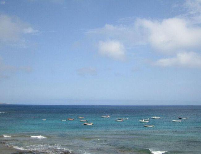 Fuerteventura (Spain) Fuerteventura Sea Boats Blue
