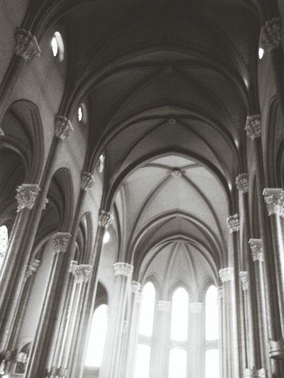 Architecture Saint Antoine Black And White