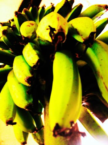 Animal Themes Banana Close-up Day Food Food And Drink Food Stories Freshness Fruit Green Color Growth Healthy Eating Nature No People Outdoors Prickly Pear Cactus Yellow