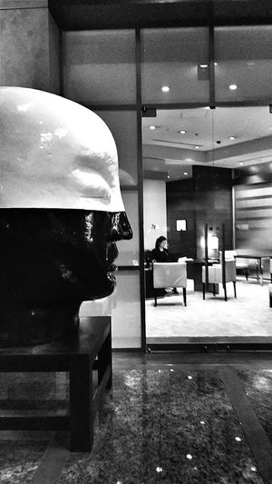 Head Sculpture Art Grand Hyatt Tokyo Roppongi Tokyo Japan Travel Photography