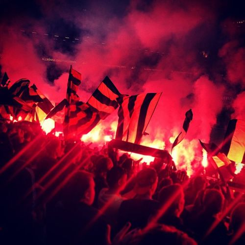 AIK Latergram från Norra pga Bedr övligt batteri