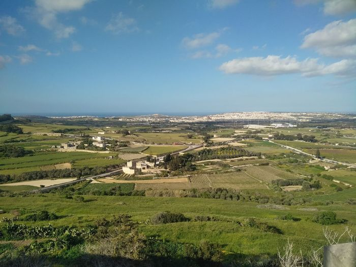 Malta Mediterranean  Beauty In Nature Landscape Mdina Nature Outdoors Scenics - Nature Sky Tranquil Scene Tranquility