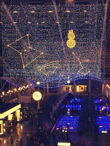 Osaka Station Tadaa Community Christmas Ilumination