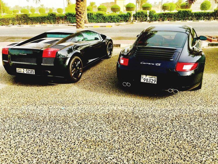 Porsche Lamborghini