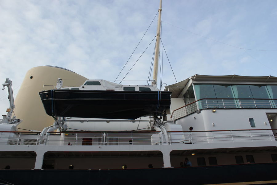 Boat Edinburgh Interior Museum Navy Scotland Ship Yacht