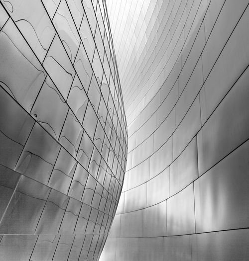 Parts of Walt Disney Concert Hall L.A. Gehry Buildings Los Angeles, California Reflection Architectural Detail Architecture Architecural Detail Arcitecturephotography Black And White Blackandwhite Building Exterior Built Structure Close-up Day Gehry Low Angle View Modern No People Outdoors Sky Steel Walt Disney Concert Hall The Graphic City