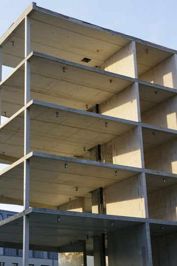 Architecture Building Exterior Building Shell Built Structure Close-up Construction Site Day Low Angle View No People Outdoors Rohbau