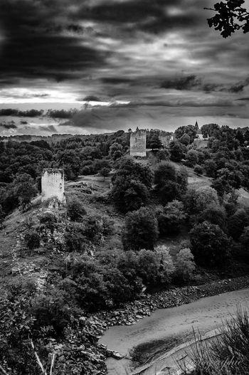 Crozant Landscape Dramatic Sky Monet Creuse Castle France🇫🇷 Sorceress Land