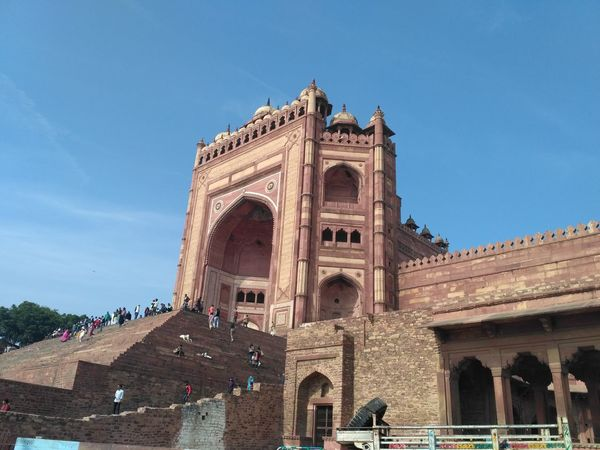 Fatehpur Sikri Bulanddarwaza EyeEm Selects Arch Sky Outdoors Building Exterior