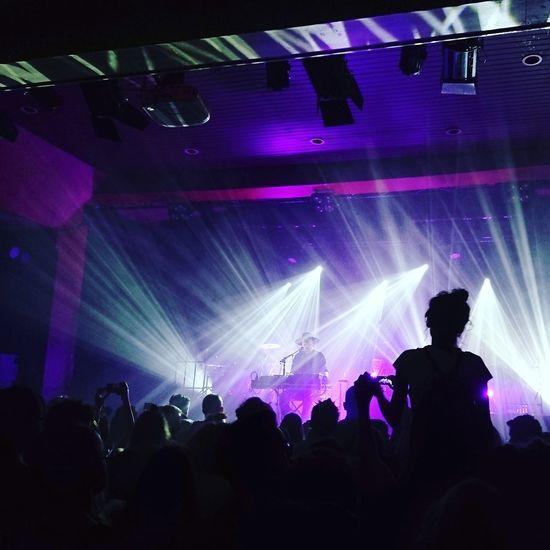Sohn concert. Beautiful. Music Nightlife Arms Raised Crowd Nightclub Enjoyment Stage Light Performance Concert Music Lights Sohn  Concert Photography
