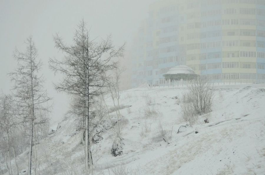 Spring May Russia Norilsk