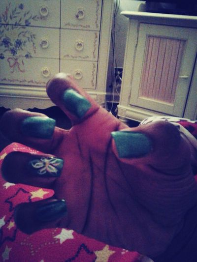 My nailss ♥