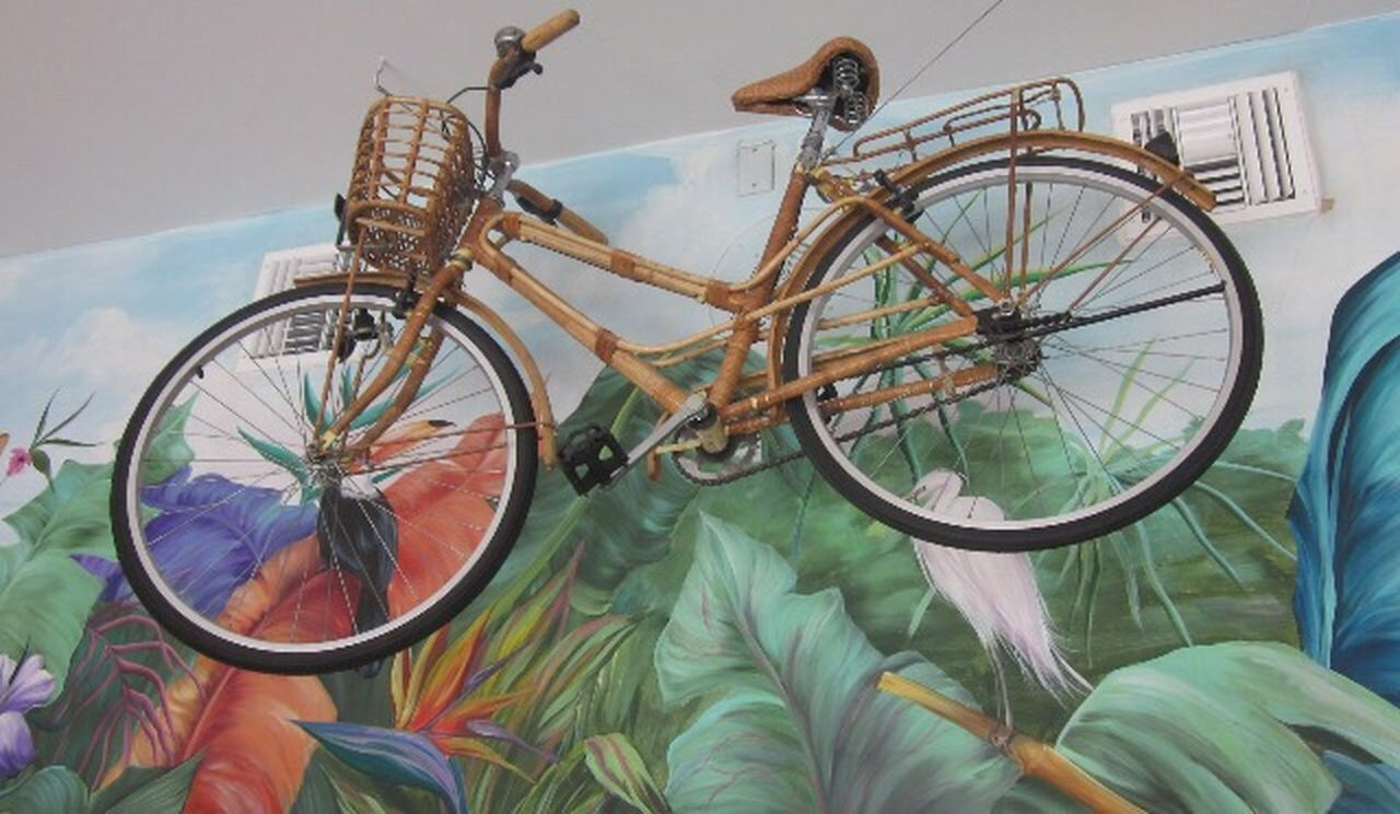 bicycle, transportation, wheel, spoke, day, pedal, indoors, sport, no people, tire, sky, close-up
