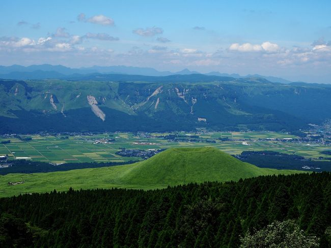 Hill Aso-shi Aso Mountains Beauty In Nature Landscape Omdem10markII 日本2017年 Cloud - Sky