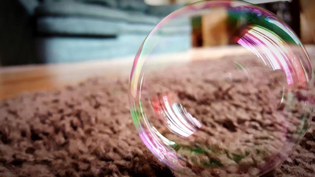 Bubble Reflection Bubbles... Bubbles...Bubbles.... Close-up