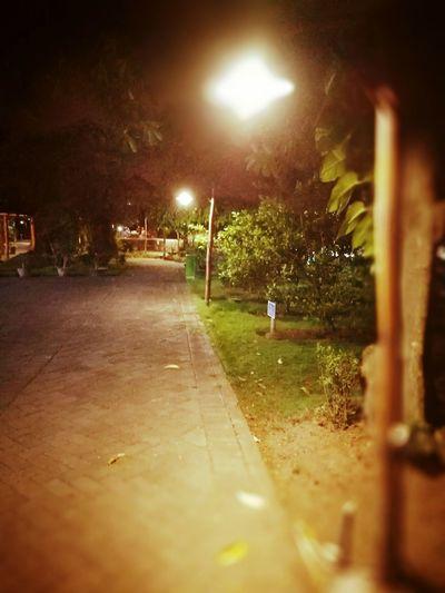 Night Illuminated Outdoors Light And Shadow Lighting