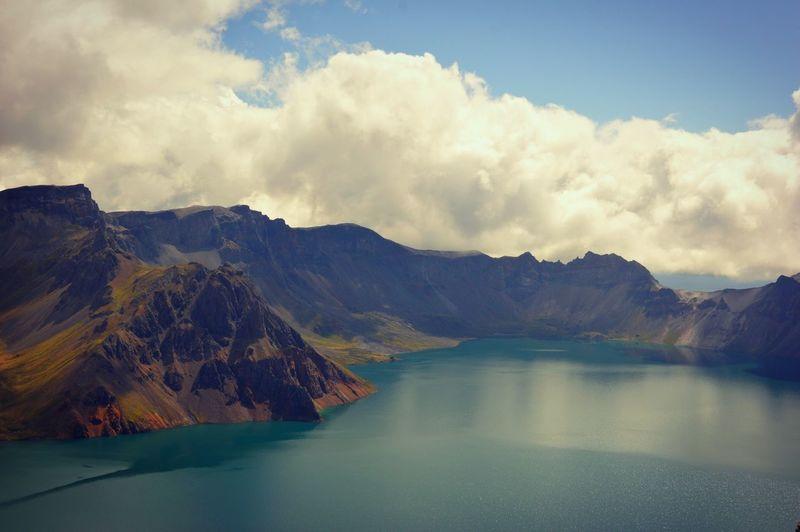 Heaven Lake on