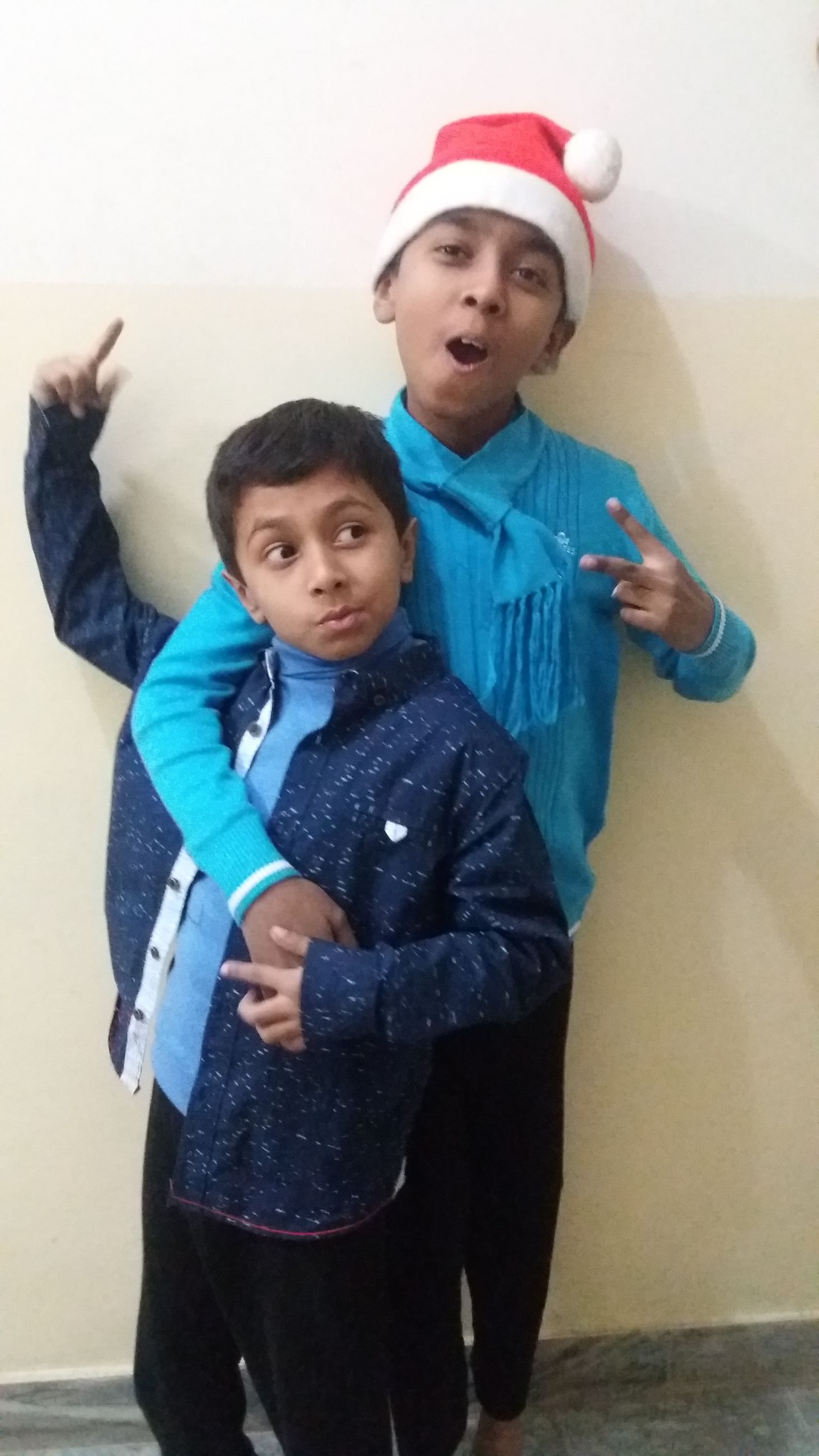 bonding, togetherness, person, love, family, childhood, lifestyles, happiness, smiling, portrait, leisure activity, looking at camera, elementary age, boys, brother, sibling, casual clothing, front view
