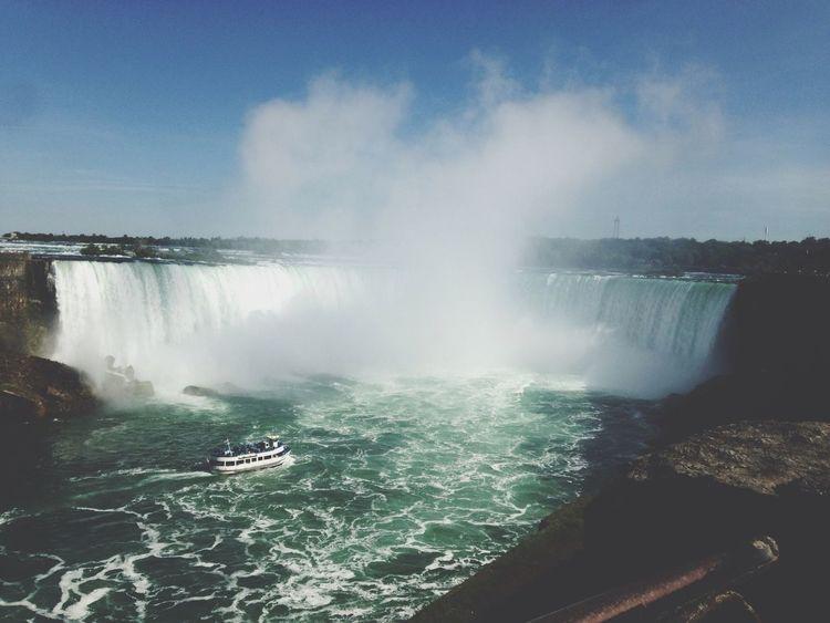 Niagara Falls? Beautiful Relaxing Water Fall