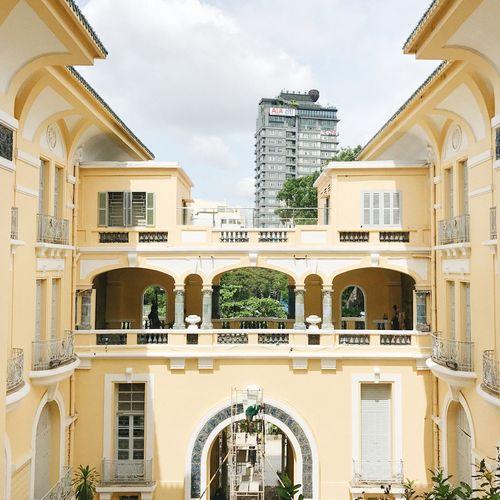 Architecture Vietnam Art Gallery Window