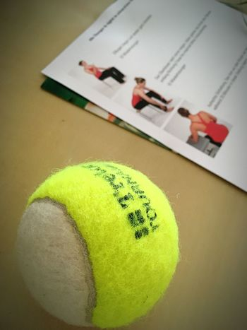 Table Indoors  Green Color No People Close-up Ball Day Tennis physiotherapists
