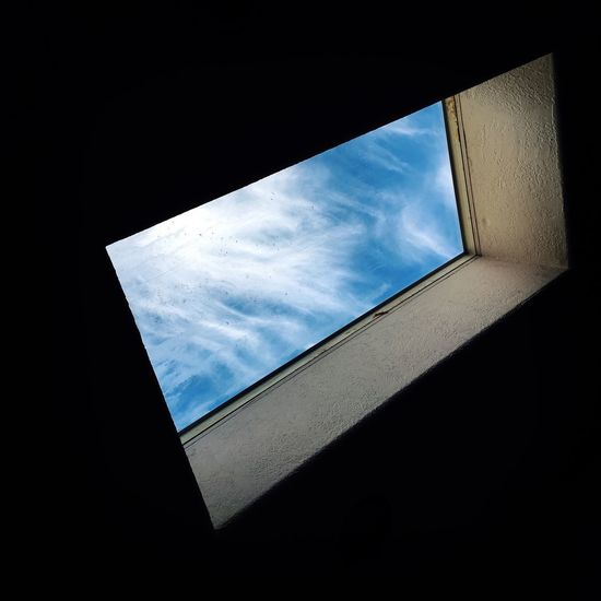 Abstract Best EyeEm Shot Blue Sky Check This Out Cloud Day Home No People Shadow Sky Window