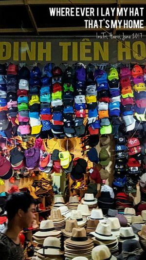 Hanoi, June 2017 Colorful Multi Colored For Sale Colors Hat Hats Retail  Variation Store Choice Abundance Business Large Group Of Objects Business Finance And Industry Market Merchandise Consumerism Indoors  Day No People Be. Ready.