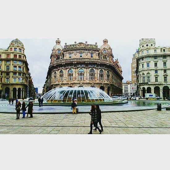 ~Piazza De Ferrari❤ Genova Zena Italy Liguria Piazzadeferrari Banca Igersgenova Instagram Instagood Tagstagramers Tagsforlikes Photooftheday Photo Photogrid Genoa Igersliguria Photobomb Photoftheday Photo