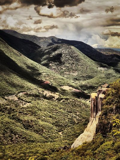 Hierve el Agua Mineral Mineral Water Tree EyeMeNewHere Cloud - Sky Sky Land Scenics - Nature Nature No People Beauty In Nature Tranquility Tranquil Scene Water Outdoors