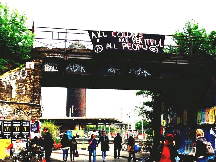 What We Revolt Against Berlin All Colours Are Beautiful People