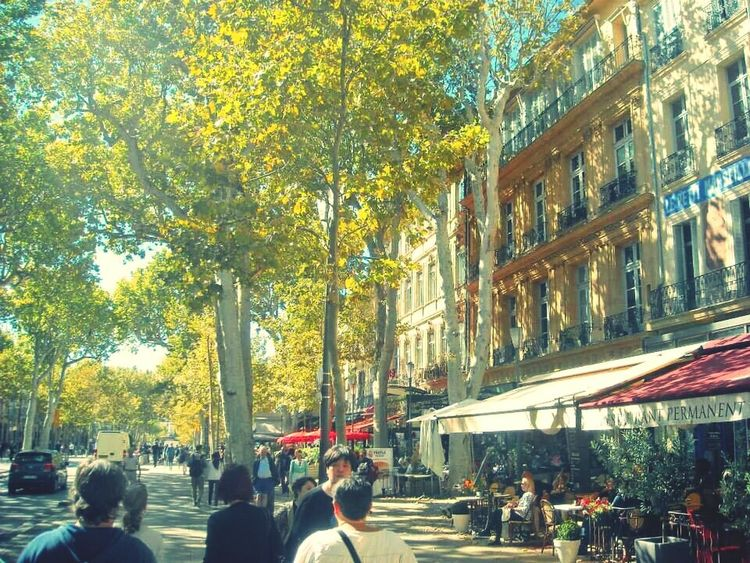 Aixenprovence Cityscapes Autumn Colors Streetphotography