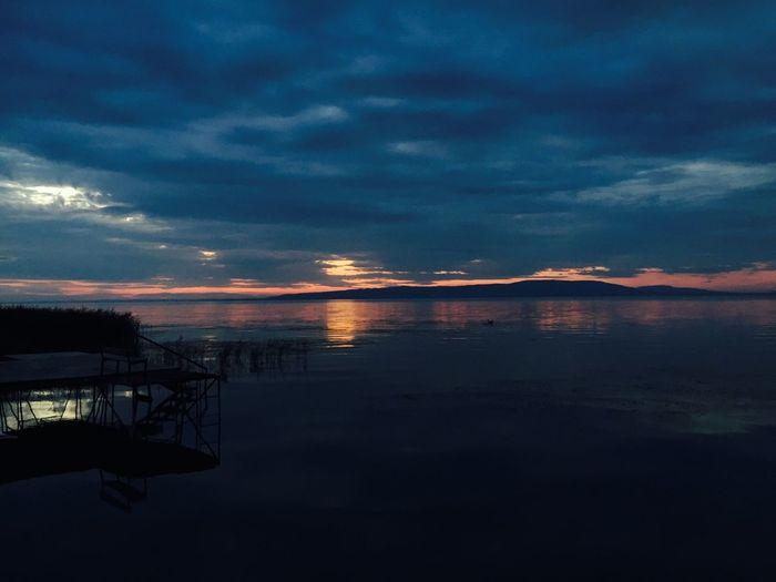 Balaton Balatonfenyves Sky Clouds And Sky Relaxing No People Wanderlust Lakeshore Lake View Sunset Beauty In Nature EyeEm Best Shots EyeEm Nature Lover EyeEmBestPics EyeEm