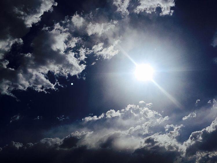 Magic Clouds Clouds And Sky Skyporn Cloudobsession Cloudporn Blue Sun Sky
