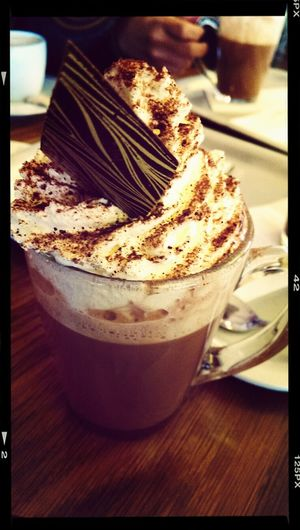 cailler hot chocolate