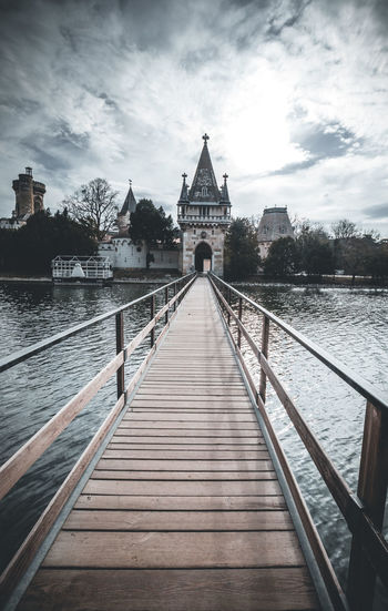 Vienna Laxenburg Castle Travel Destinations Austria Architecture Built Structure Bridge No People Bridge - Man Made Structure River Water Lake Wallpaper Background Landscape The Way Forward Sky Outdoors Long Building Exterior Historic