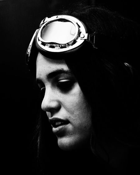 Portrait Popular Photos Bnw EyeEm Best Shots Portrait Of A Woman Mua Style Design Bnw_collection Bnw_life Young Women Females Human Face Portrait Beautiful Woman Beauty Human Eye Women Eyes Closed  Close-up Eyelash Perfume Vision