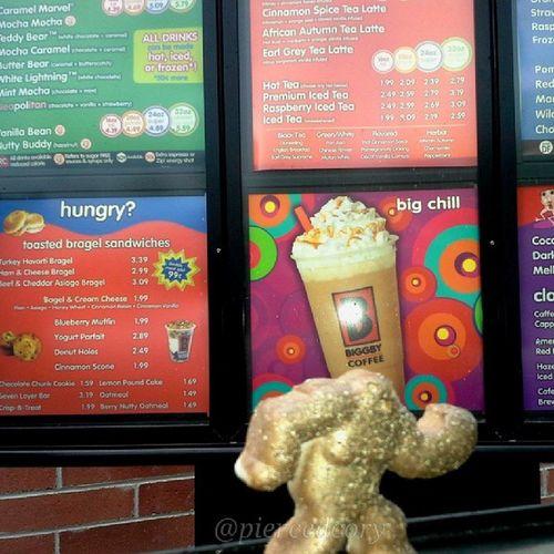 How a Squatch starts the day! Bigfoot Biggby Watchforthesquatch_art