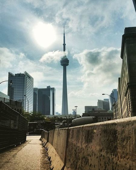 current view Viewsfromthe6 Toronto Photographysouls The6 Cntower Photography Streetphotography Sun Sky Cloudporn Cityscape City Concretejungle Mywalk Currentview Thankyoutoronto The6ix Lifeofham
