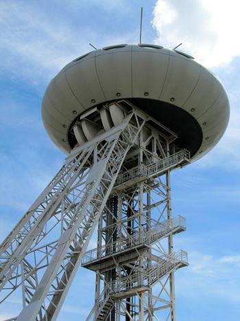 Blue Sky Building Exterior Colani UFO