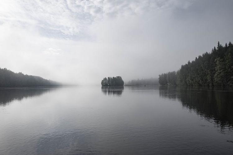 Lake at Saimaa,