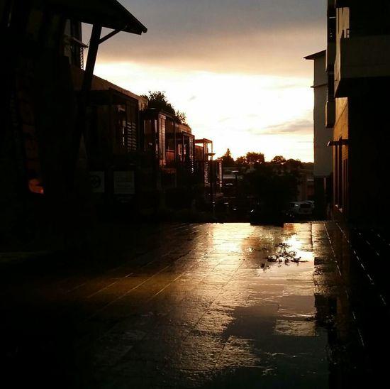 Kogarah sunset after work. At Work Rains Architecture Sunset ©augustus_fotografica