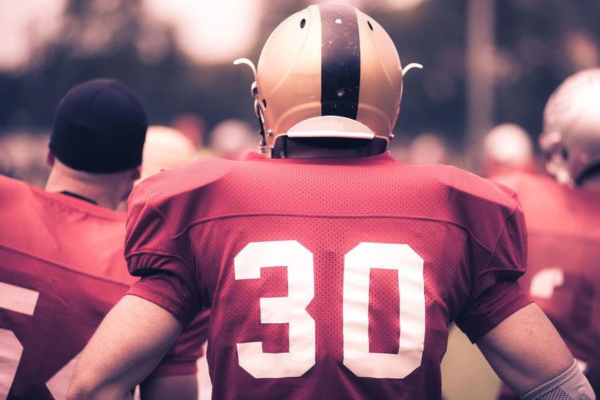 d8e6da141 Toned image of American Football players in action American Football Duo  Tone Field Football Man Referee