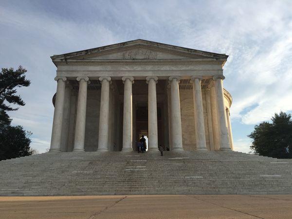 Washington, D. C. Jefferson Memorial Landscape No Edit/no Filter OpenEdit Architecture Symmetry