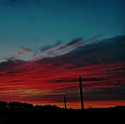 вечер закат🌇 солнце